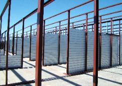 storage unit being built by gargoyle steel structures in lubbock